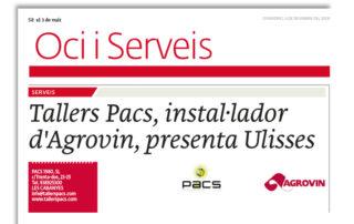 Tallers Pacs presenta Ulisses al 3 de Vuit